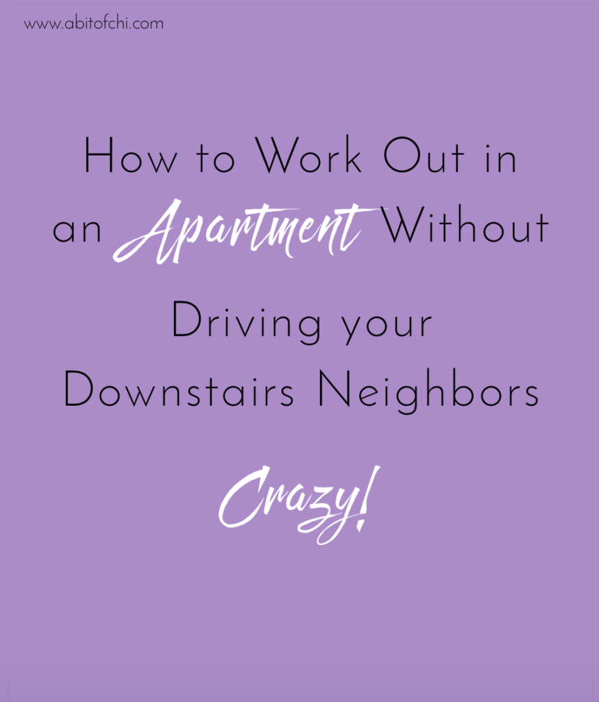 Tips for Working Out in an Apartment