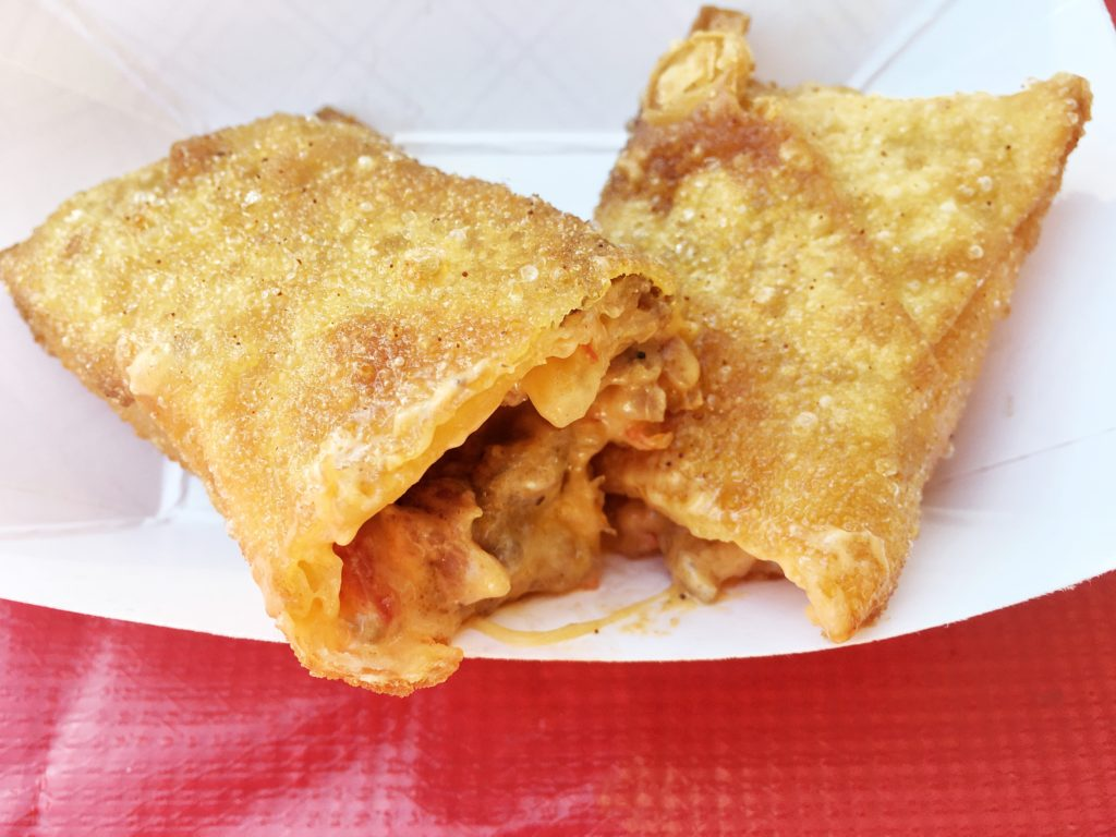 Bacon Pimiento Cheeseburger Eggroll
